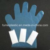 Guanti trasparenti a gettare della radura del PE dei guanti di plastica