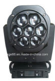 Träger-bewegliche Hauptleuchte des Bienen-Augen-7 LED