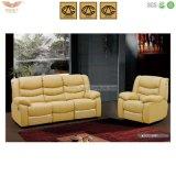Mobília moderna do sofá de couro do Recliner do VIP do sofá (HY2612)