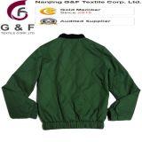 여자 군 녹색 안전 형식 재킷