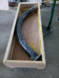 Producto patentado del desgaste - manguera de cerámica resistente de la explotación minera con la calidad fina, flexibilidad del doblez del radio