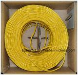 24AWG cabo de Ethernet listado desencapado contínuo do cobre ETL UTP Cat5e