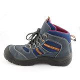 Новые ботинки деятельности техники безопасности на производстве высокой пятки кожи замши Arrivel (UG-200)