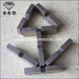 Le segment de meulage du découpage Ds-2 pour la circulaire de diamant scie la lame (40X5.5X12mm)