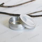 tarro de aluminio 80g para el empaquetado hecho a mano de los artes