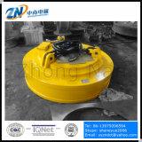 Eletroímã de levantamento da sucata do ciclo de dever de 75% para a sucata do moinho de rolamento que levanta MW5-130L/1-75