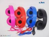 Auriculares plegables coloridos portables del MP3 del teléfono móvil para el ordenador