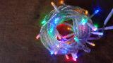 Luz do fio da luz da cortina da decoração da corrente clara do diodo emissor de luz