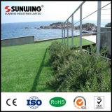 Aquarium-künstliches Gras des Willkommens-40mm für die Landschaftsgestaltung des Gartens