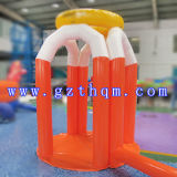 Basketball gonfiabile Stands Toys per Kids e Adult/Inflatable Basketball Hoop