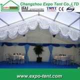 Tienda de campaña cubierta boda temporal para la fiesta