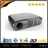 1500 lumen 1280X800 Pixels Portable Full HD Android WiFi Smart 3D LED Projector