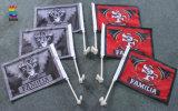 Bandeira nacional da mão do poliéster inteiro da alta qualidade da venda