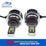 Auto C.C. dos bulbos 6000k 8-32V do farol do diodo emissor de luz do carro da lâmpada 30W 3200lm 9006 do carro do brilho elevado da iluminação
