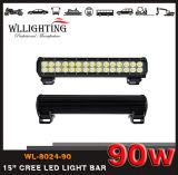 """14.5 """" 90W 7000lm de LEIDENE van de Straal van Combo van de Vloed van de Vlek CREE Lichte Staaf van het Werk voor off-Road Lamp van de Jeep van de Boot SUV 4X4 4WD wl-8024-90 (leiden-licht-STAAF)"""