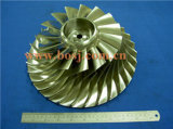 高いPerformanceターボKtr110 Billet Compressor Wheel 6505-51-1410 FitターボかChra 6505-52-54140 6505-65-5020 Impeller Blade