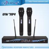 Drahtloses KTV Mikrofon Qualität Berufsdoppel-UHF