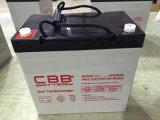 Bateria solar do gel de Cbb 12V 55ah para o fuzileiro naval
