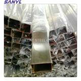 Condutture saldate Polished buone del quadrato dell'acciaio inossidabile