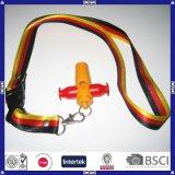 Silbido plástico colorido modificado para requisitos particulares de Logo&Shape