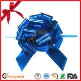 Arco della stella di natale del nastro metallico del regalo pp della stagnola di fabbricazione della Cina mini