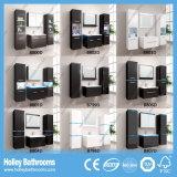 Gabinete High-Gloss do espelho do banheiro da pintura do interruptor quente do toque claro do diodo emissor de luz (B802D)
