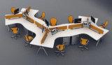 Sistema de sitio de trabajo simple moderno de la partición de la oficina de los muebles de oficinas (SZ-WST638)