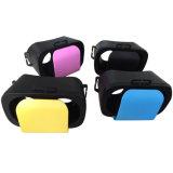Os vidros dos auriculares 3D da realidade virtual da caixa de Vr ajustam para Iphon
