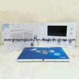 brochure visuelle de l'écran LCD 5inch pour la promotion de compagnie