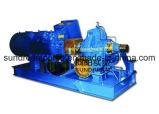 La pompe fendue ISO9001 de caisse de moteur diesel a certifié