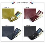 Новый бумажник неподдельной кожи бумажника карточки способа прибытия 2016