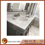 Branco / Preto / Verde / Azul / Bege Quartz / Mármore / Granito Vanity Top para cozinha / Casa de banho / Hotel