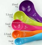 Multicolour измеряя ложка 5PCS/Lot для порошка чая молока кофеего