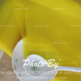 Engranzamento branco & amarelo da impressão de cor