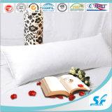 Il cotone molle eccellente bianco e giù riempie il cuscino del gemello del cuscino del sostegno