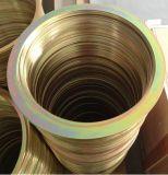 Metall schellt flache Ring-gewundene Wunddichtung-Ring-Dichtung-Ringe (SUNWELL)