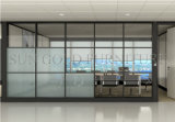 Preços de vidro de construção usados materiais da parede de divisória da mobília de escritório (SZ-WST773)