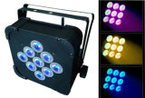 가져온 Battery LED High Power 9PCS Wireless Battery Light LED PAR Light Stage Light