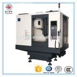 Vmc850 보편적인 정밀도 중국 4 축선 침대 선반 /Cutting 단단한 물자 기계 선반