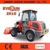 Everun Marke 1.6 Tonnen-kleine Rad-Ladevorrichtung China Manuactuer