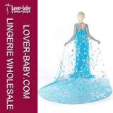 Mädchen-Prinzessin Anna Elsa Cosplay Costume (L15348)