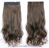 Grampo 2016 de venda quente no grampo de Remy do Virgin do cabelo reto na extensão do cabelo