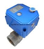двухсторонней шариковый клапан моторизованный латунью для катушки вентилятора (CWX-25S)