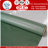 1.5mm Reinforced e PVC Geomembrane di Alto-concentrazione