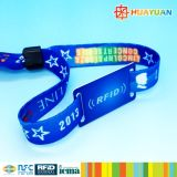 Festival Event MIFARE Classic 1K RFID Gewebe Gewebte Wristband