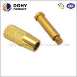 Полируя часть CNC алюминия подвергая механической обработке поворачивая сделанная в фабрике Китая