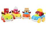 Carro plástico dos desenhos animados da frição do brinquedo do carro (H2162080)