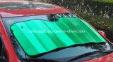 2015 mais novo! ! ! ! Pára-sol bonito da parte dianteira do pára-sol da parte dianteira do carro da impressão relativa à promoção da folha de alumínio 130*60cm da alta qualidade