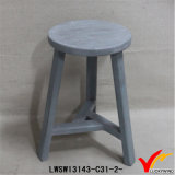 Reclamado Country Shabby Chic 3 Leg Wooden Stool