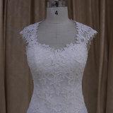 高品質のAラインの花嫁の服花嫁